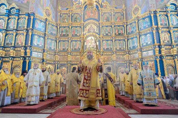 В столице Казахстана Астане состоялись церковные торжества