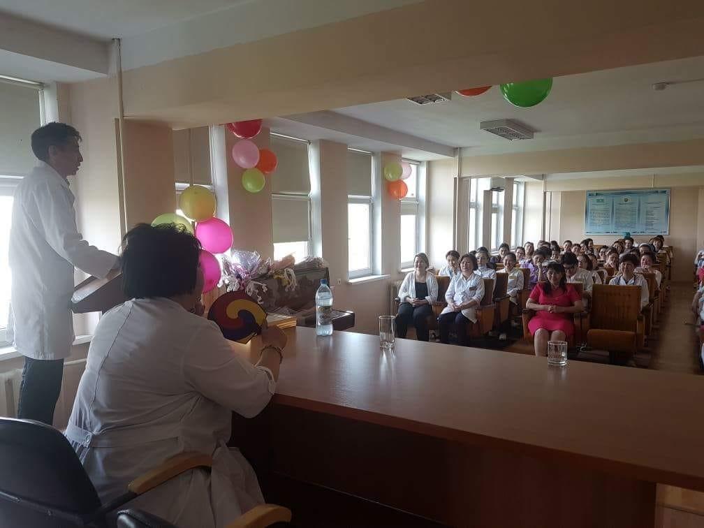 Встреча в  городской поликлинике  № 33