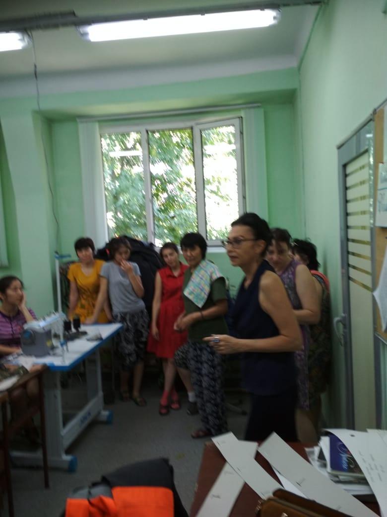 Встреча в ТОО «Швейной фирме Семирамида»