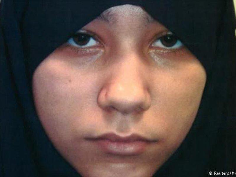 18-летняя джихадистка осуждена пожизненно за терроризм в Лондоне