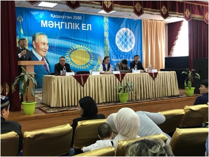 Республиканская группа по вопросам религии провела адресную профилактическую работу  в г.Алматы
